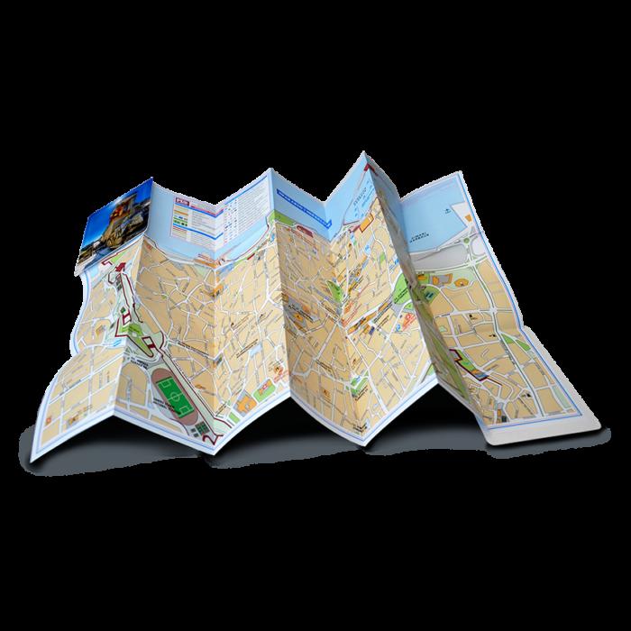 Heraklio Map